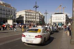 Puerta del Sol, Μαδρίτη, Ισπανία Στοκ εικόνες με δικαίωμα ελεύθερης χρήσης