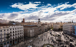 Puerta del Sol - Μαδρίτη Στοκ εικόνα με δικαίωμα ελεύθερης χρήσης