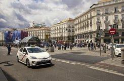 Puerta del Sol στη Μαδρίτη, Ισπανία Στοκ φωτογραφία με δικαίωμα ελεύθερης χρήσης