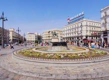 Puerta del Sol στη Μαδρίτη Στοκ φωτογραφίες με δικαίωμα ελεύθερης χρήσης