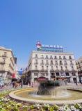 Puerta del Sol στη Μαδρίτη Στοκ εικόνα με δικαίωμα ελεύθερης χρήσης