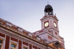 Puerta del sol Royalty Free Stock Image
