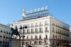 Puerta del Sol, Madrid stock image