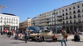 Puerta del Sol, Madrid Stock Photography