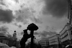 Puerta del Sol, Madrid Royalty Free Stock Images
