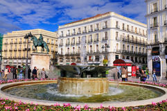 Sol, Madrid Royalty-vrije Stock Foto