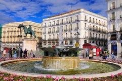 Solénoïde, Madrid Photo libre de droits