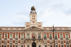 Puerta del Sol square, Madrid, Spain Stock Photography