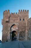 Puerta del Sol. In Toledo, Spain Royalty Free Stock Photo