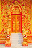 Puerta del templo. Foto de archivo libre de regalías