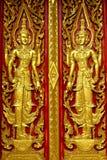 Puerta del templo foto de archivo libre de regalías