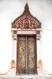 Puerta del templo Imagen de archivo libre de regalías