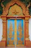 Puerta del templo Fotografía de archivo