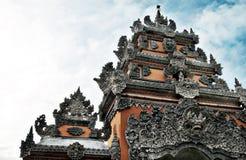 Puerta del templo de la porción de Tanah Foto de archivo libre de regalías