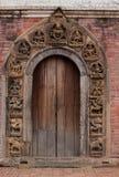 Puerta del templo de Patan Fotos de archivo