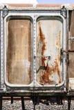 Puerta del tren fotografía de archivo