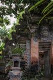 Puerta del ubud Bali, Indonesia Imágenes de archivo libres de regalías
