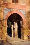 Puerta Del Vino, Alhambra pałac w Granada, Hiszpania obraz royalty free