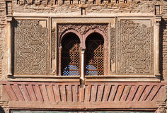 Puerta del Vino, Alhambra palace in Granada, Spain. Arab architecture, closeup of Wine Gate, named Puerta del Vino, Palace of Alhambra in Granada, Andalucia Stock Images