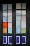 Puerta del vintage Imagenes de archivo