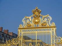 Puerta delantera del palacio de Versalles Foto de archivo libre de regalías