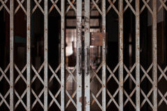 puerta deslizante Foto de archivo libre de regalías