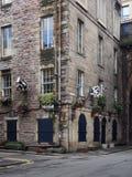 Puerta Edimburgo de la vaca Imágenes de archivo libres de regalías