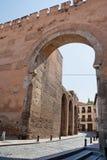 Puerta Elvira in Granada Lizenzfreie Stockfotos