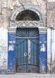 Puerta en aleppo Siria Foto de archivo