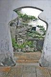 Puerta en China Fotos de archivo