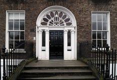 Puerta en Dublín imagen de archivo libre de regalías