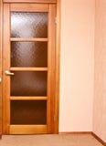 Puerta en el cuarto Foto de archivo libre de regalías