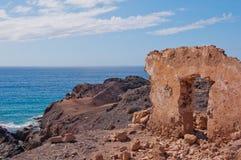 Puerta en el desierto Foto de archivo libre de regalías