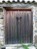 Puerta en encadenamientos imagenes de archivo