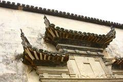 Puerta en estilo chino tradicional Imagen de archivo libre de regalías