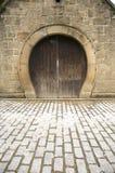 Puerta en forma de herradura Imagen de archivo libre de regalías