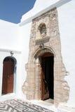 Puerta en iglesia Foto de archivo libre de regalías