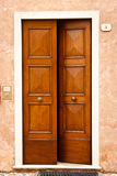 Puerta en Italia Imagen de archivo