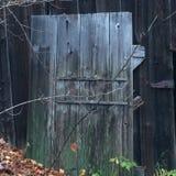 Puerta en la caída Fotografía de archivo libre de regalías