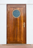 Puerta en la nave fotografía de archivo libre de regalías