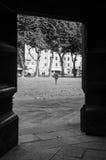 Puerta en Lucca Imagen de archivo