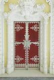 Puerta en palacio del sintra Foto de archivo libre de regalías