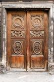 Puerta en París Foto de archivo