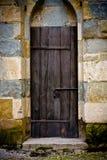 Puerta en pared Fotografía de archivo libre de regalías