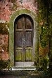 Puerta en pared Fotografía de archivo