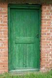 Puerta en pared Imagenes de archivo