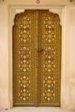 Puerta en Rajasthán Imágenes de archivo libres de regalías