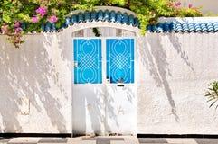 Puerta en Túnez Fotografía de archivo libre de regalías