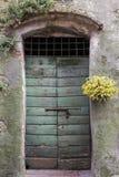 Puerta en Toscana, Italia imágenes de archivo libres de regalías