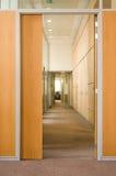 Puerta en un pasillo Foto de archivo